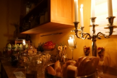 Das abendliche Buffet